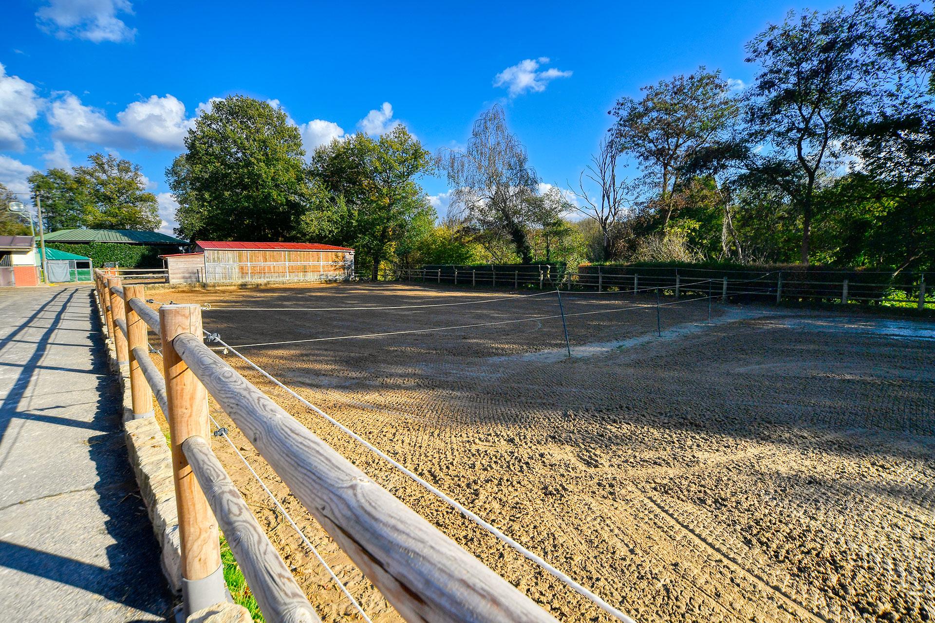 2 paddocks en sable